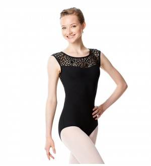 Lulli LUF465 Cap Sleeve Performance Leotard Gillian