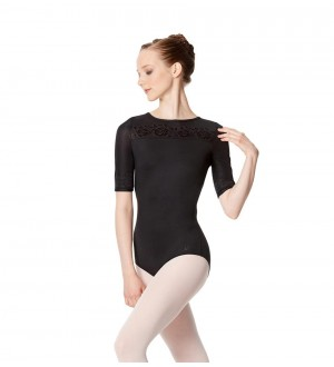 Lulli LUF504 Short Sleeve Leotard Irene