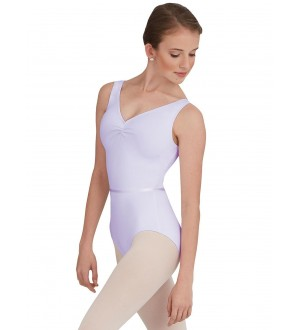 Capezio Tactel V Neck Leotard - TC0045W