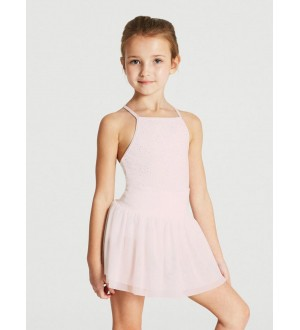 Capezio Eyelet Waistband Layer Skirt - Girls
