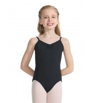Capezio Tactel Pinch Front Leotard - Girls
