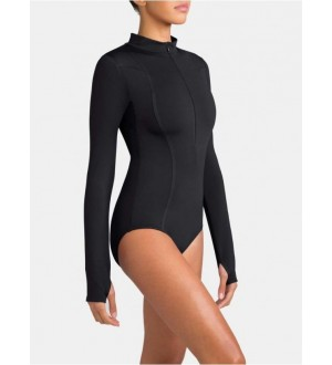 Capezio Tech Encryption Long Sleeve Leotard - 10913w