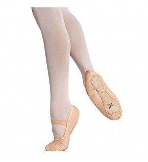 Capezio Clara Full Sole Ballet Shoes - Child U209C