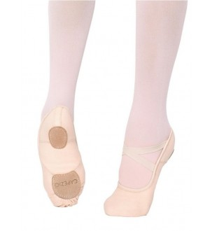Capezio Canvas Split-Sole Hanami Ballet Shoes - 2037W