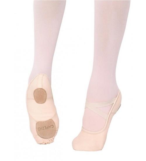 Capezio Canvas Split-Sole Hanami Ballet Shoes - 2037W
