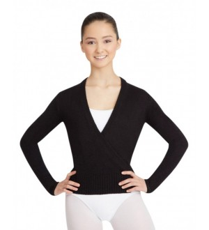 Capezio Long Sleeve Wrap Sweater - CS301