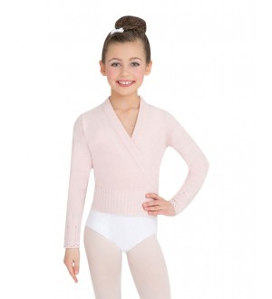Capezio  Child Long Sleeve Wrap Sweater - CS301C