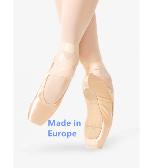 Gaynor Minden Pointe Shoes With Suede Tips (SC) / Made in Europe