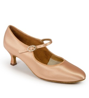 International Dance Shoes C2005 - Flesh Satin